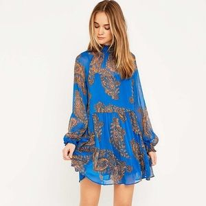 Free people Forget Me Not Paisley dress, XS
